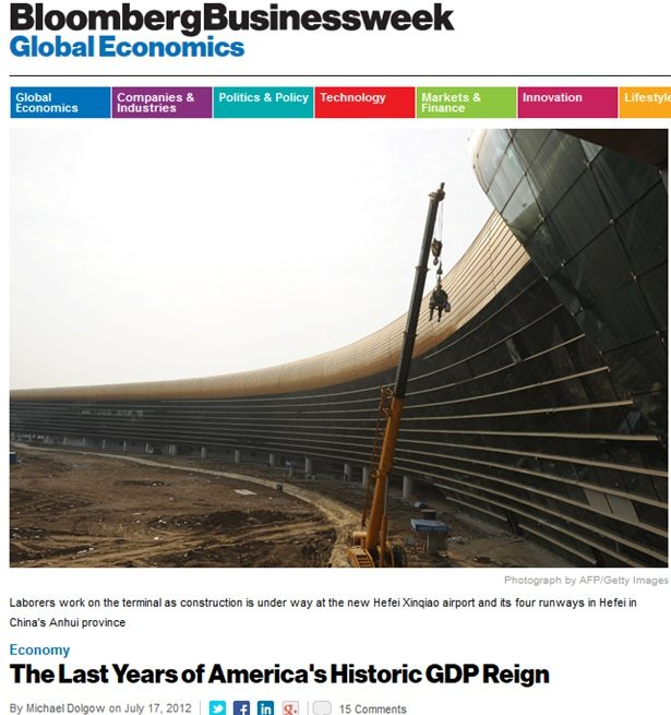 last years of america gdp reign