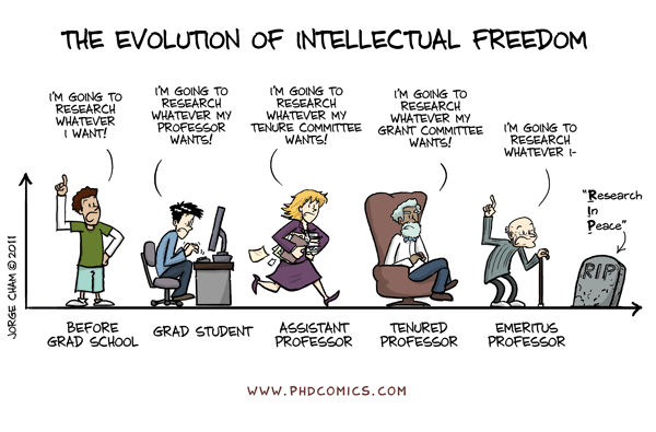 evolution of intellectual freedom