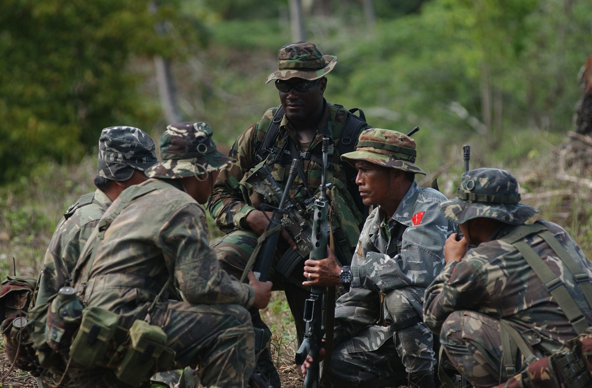 US and Philippine Forces training for war they never fully understood.