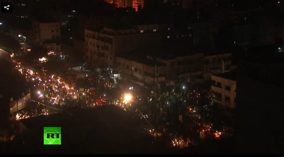 gaza celebrates