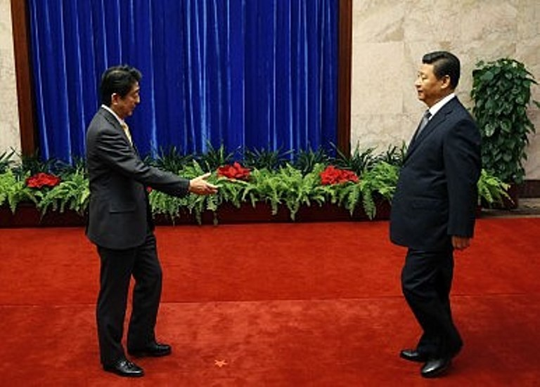 abe meets xi