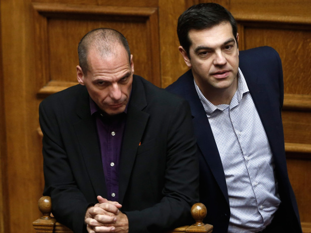 yanis and tsipras