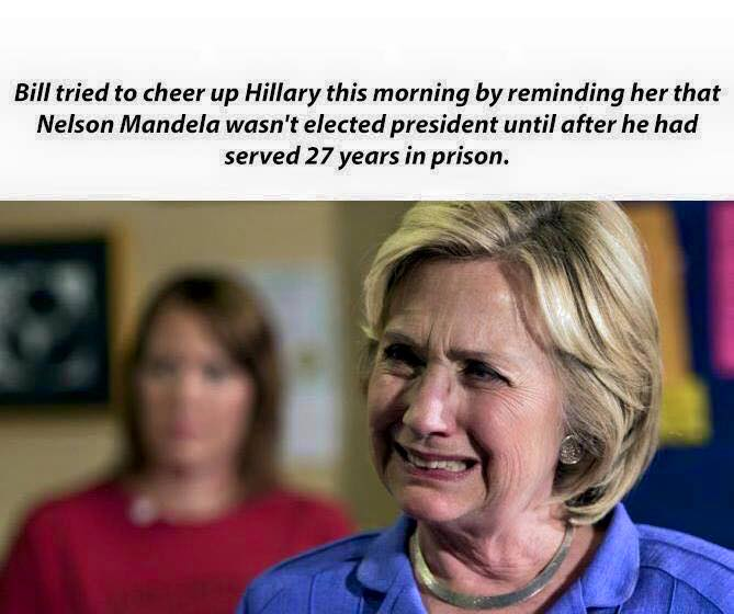 hillary in deep shit