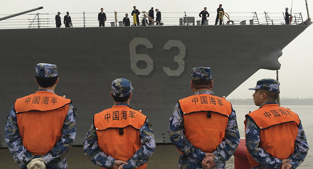 China and US to Hold Naval Drills