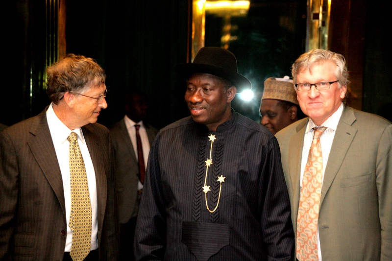 BILL GATE, GOODLUCK AND JEFF