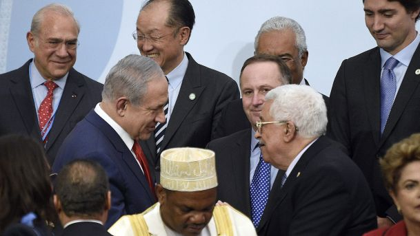 Netanyahu talks with Abbas