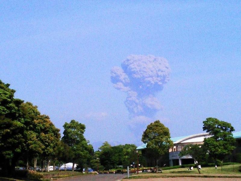 mushromm cloud in japan may 2016