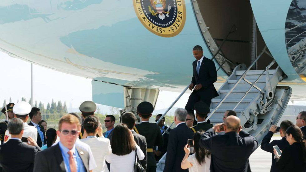 G20 'staircase snub' for Obama