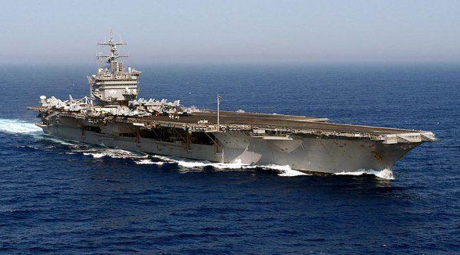 False Flag Attack on USS Enterprise to Start WW3