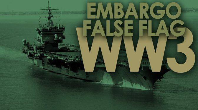 False Flag On USS Enterprise Still On Course
