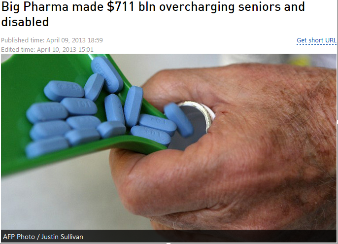 big pharma overcharging seniors