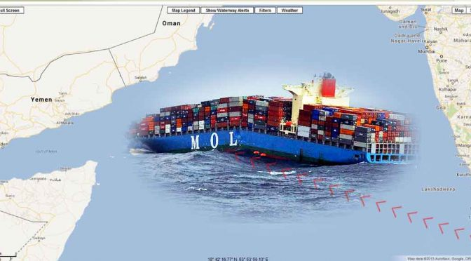 Ship Carrying Arms for Syrian Rebels Breaks In Two