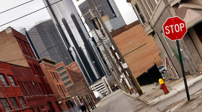 Detroit Files Biggest Bankruptcy Ever