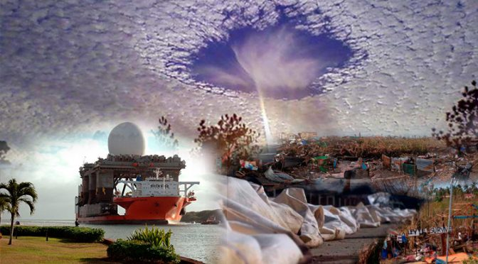 U.S. Attacked the Philippines with HAARP