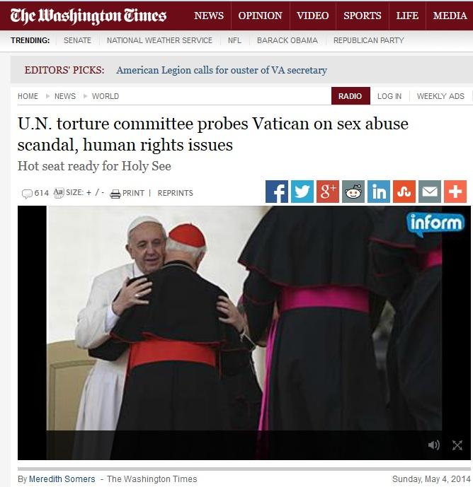 vatican torture