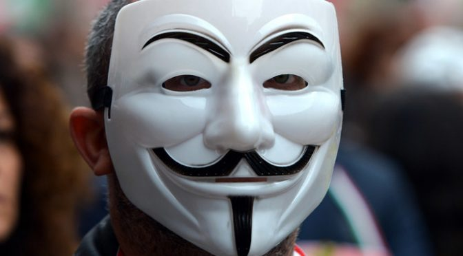 Anonymous Launches #opCISA