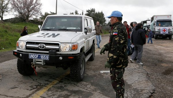 All Filipino Peacekeepers Escape Golan Heights