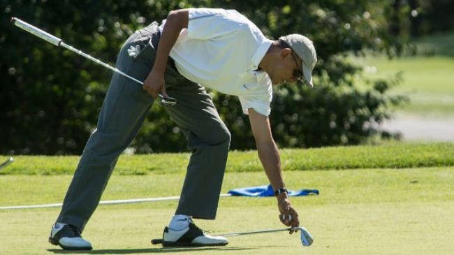 Barry Returns to Golfing After Promoting ISIL's Foley