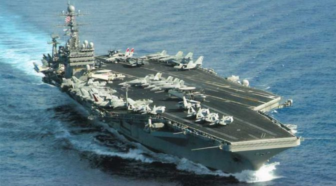 US Sends 2nd Aircraft Carrier After Chinese Barrel Roll Over its Top Gun