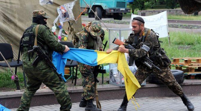 Nazis Are Defeated in Ukraine