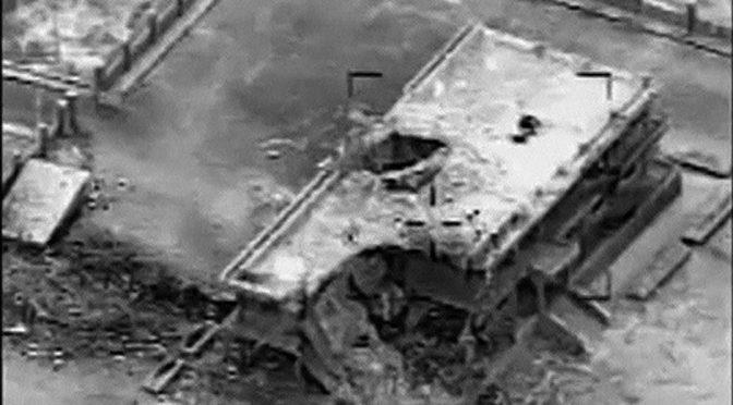 US Bombing Empty Buildings in Syria