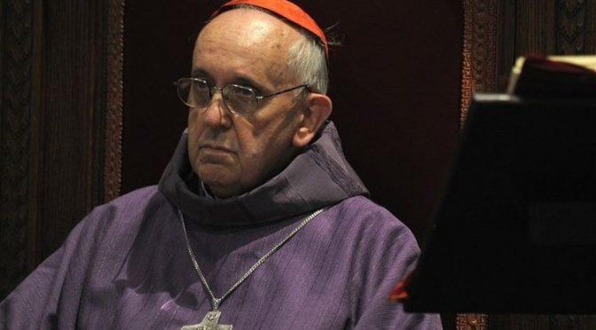 Jesuit Bergoglio Admits ET/ UFO Facts to Avoid Arrest