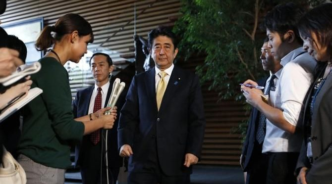 Abe's scandal-hit Cabinet could fall like dominos