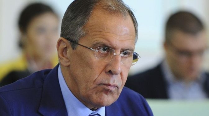 Attack on our plane was premeditated, an ambush! – Lavrov confirms