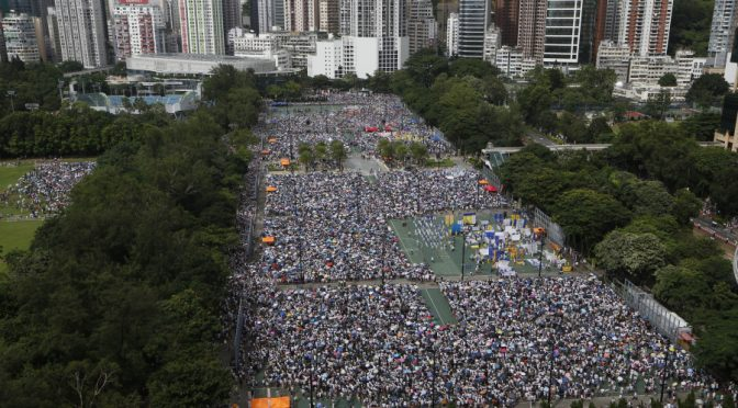 US Hand in Hong Kong Protest Confirmed