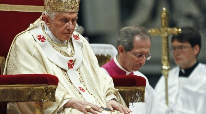 The Evidence That Forced Pope Benedict to Resign is Now Available