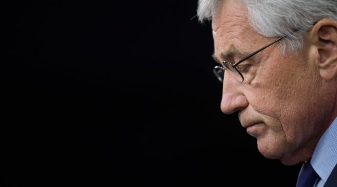 US Defense Secretary Hagel Resigns