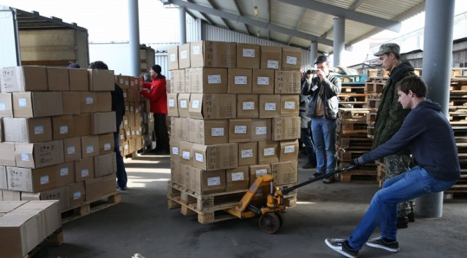 Russia Delivers 8th Humanitarian Aid to Ukraine