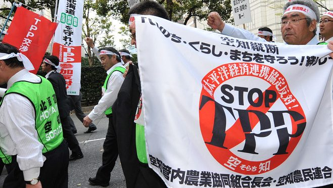 TransPacific Partnership Feeds Corporate Greed Only