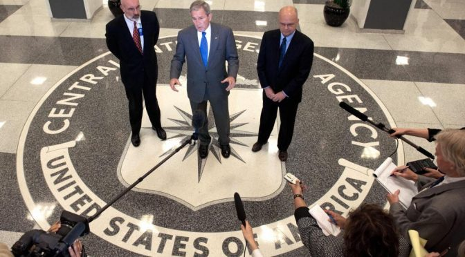 Names Redacted; CIA Torture Report Sparks Bush Arrest Plea