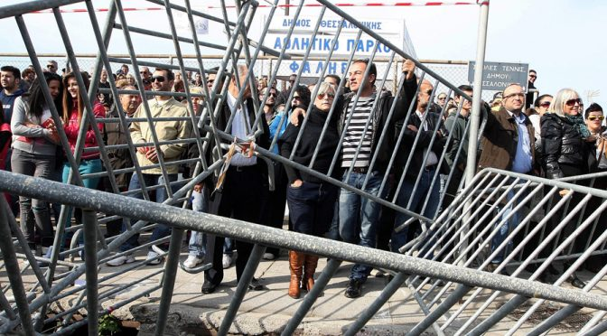 Barricades are Down; New Greek Gov't is Keeping its Anti-Austerity Promise