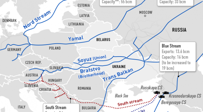 Gazprom Announces Final Nail in the South Stream Coffin