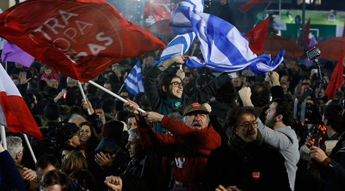 'If they can do it in Greece, we can do it here!'