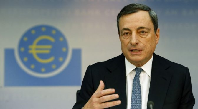 €1.1 Trillion QE for Eurozone Announced; Euro Falling