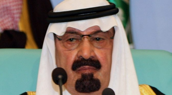 Saudi's Cabalist King Abdullah Dead Finally!