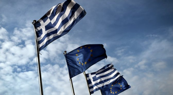 Greek Municipality Removes EU Flag