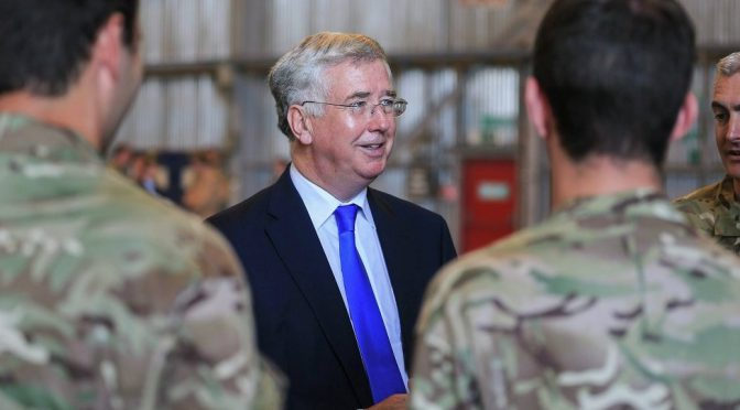 Private Arms Dealers in Bed With UK Defence Ministry