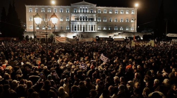 Bankrupt But Free: Greek Revolution Unfolding