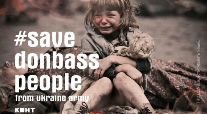 Meet The Peaceful People of Donbass; See the War They Need to Fight