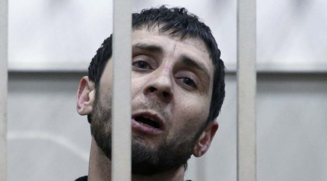 Zaur Dadayev Admits Guilt on Nemtsov's Death