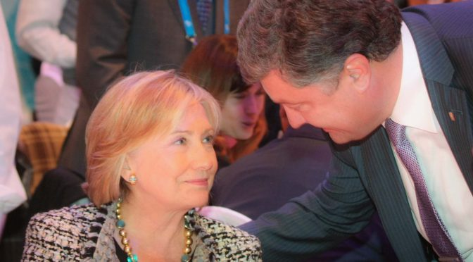Clinton Foundation's Deep Financial Ties to Ukrainian Oligarch