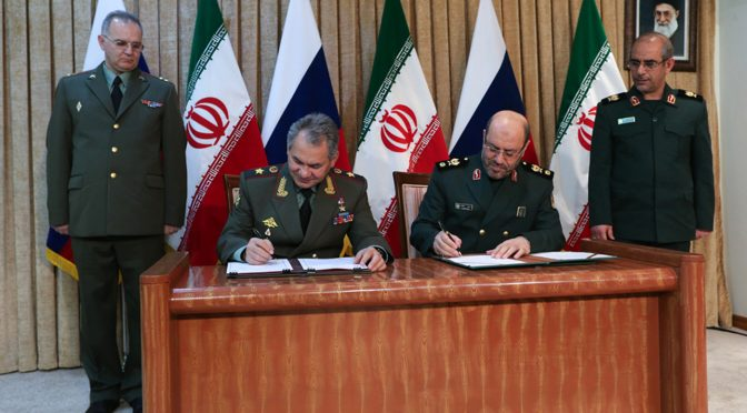 Putin and Iran Do a Game Changer