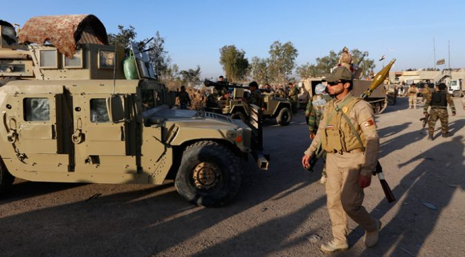 Cabalist ISIS Retreats from Tikrit; Iranian General Leading Shiite & Sunni Militias