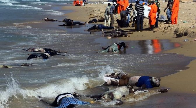 Cynical EU Response on Mass Drowning of War Refugees