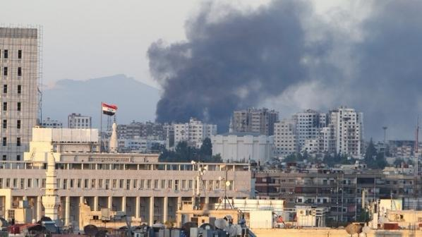 We view a mortar attack at the Russian Embassy in Damascus as a US terrorist attack.