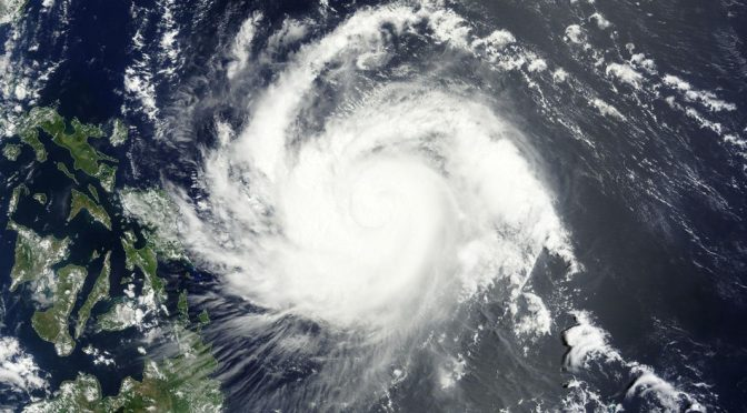 It's Summertime in the Philippines Yet Cat 4 Typhoon is Underway